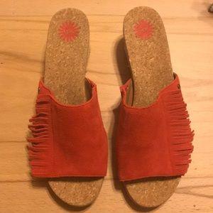 NWOT UGG Danes Wedge Sandal